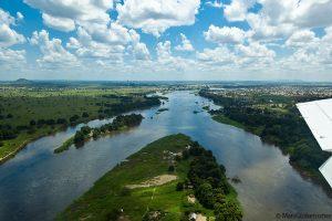 Nilo Bianco nei pressi di Juba