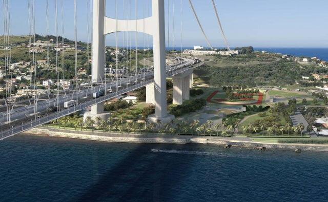 Ecco come sar il ponte sullo stretto scheda immagini e for Disegni di ponte a 2 livelli