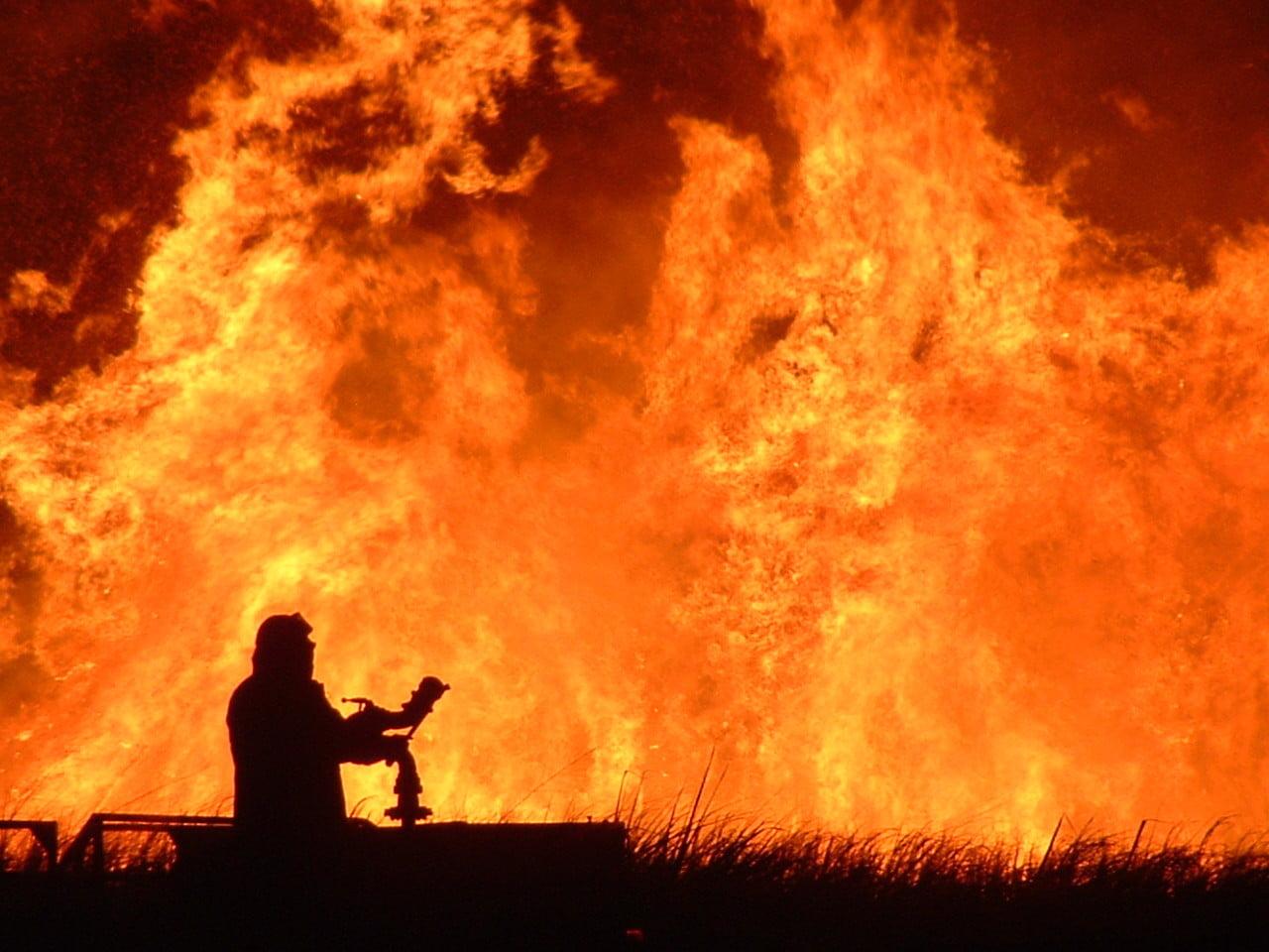 incendio, fuoco