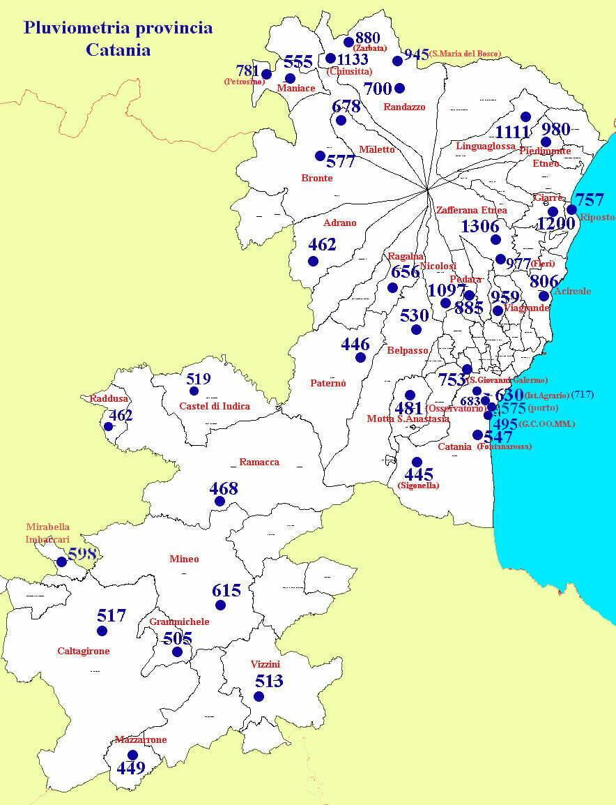 Clima della sicilia le piogge meteo web - Piscine a catania e provincia ...