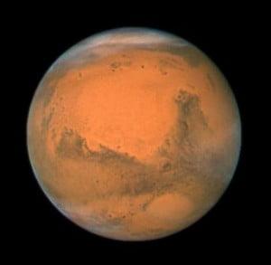Astronomia: il clima remoto di Marte 1