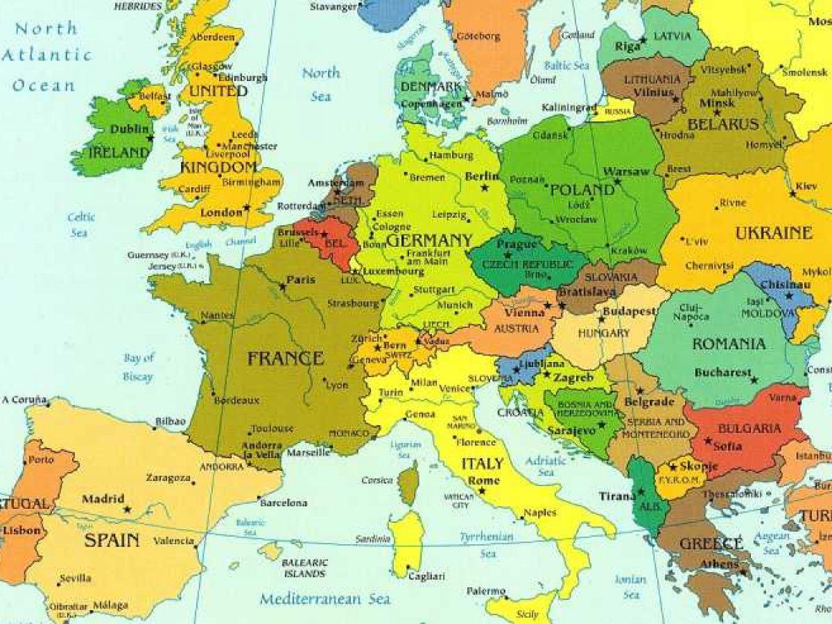 Cartina Mediterraneo Centrale