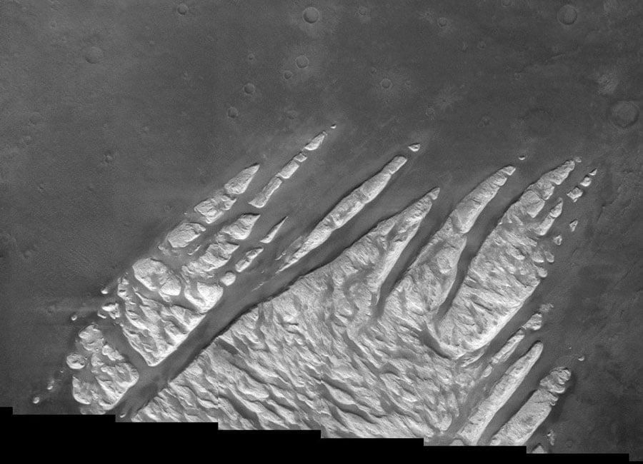 Astronomia cenere vulcanica su marte meteo web for Cenere vulcanica