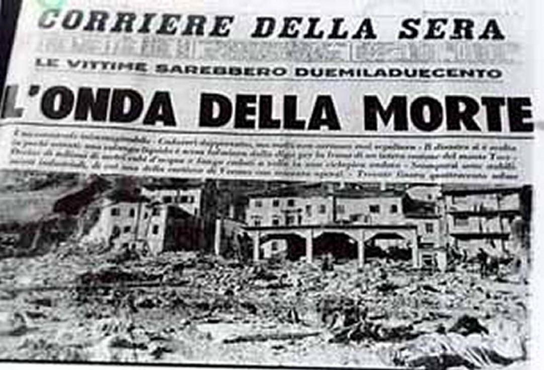 Accadde oggi, il 9 ottobre 1963 il Disastro del Vajont: la Valle del Piave fra fango e desolazione [GALLERY]