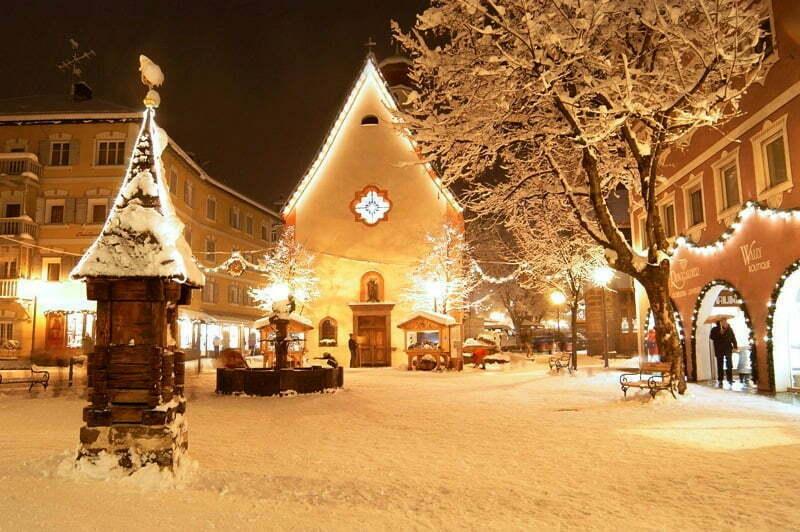 Immagini Natale Neve.Sulle Dolomiti C E Ancora Poca Neve Ma Per Natale E Gia