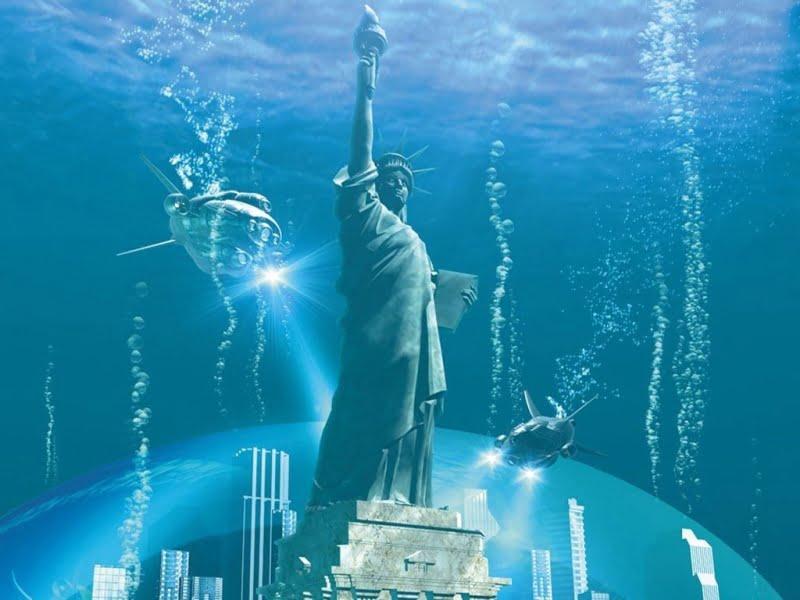 Risultati immagini per new york sommersa dalle acque vedi