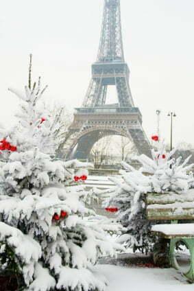Foto Con La Neve Di Natale.Secondo Meteorologi Francesi Sara Un Dicembre Gelido Con La Neve A Parigi Nei Giorni Di Natale