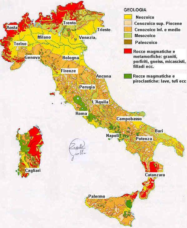 Cartina Fisica Italia Colline.Viaggio Tra Le Regioni Italiane Osservate Dallo Spazio