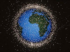 I detriti spaziali attorno alla Terra