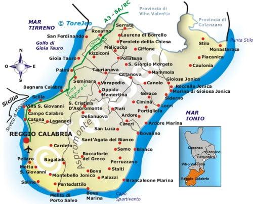 Cartina Calabria Catanzaro.Maltempo In Calabria Situazione Critica Anche Nel Reggino