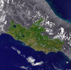 Lazio _ cartina