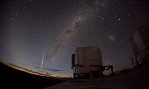 Christmas Comet Lovejoy Captured at Paranal