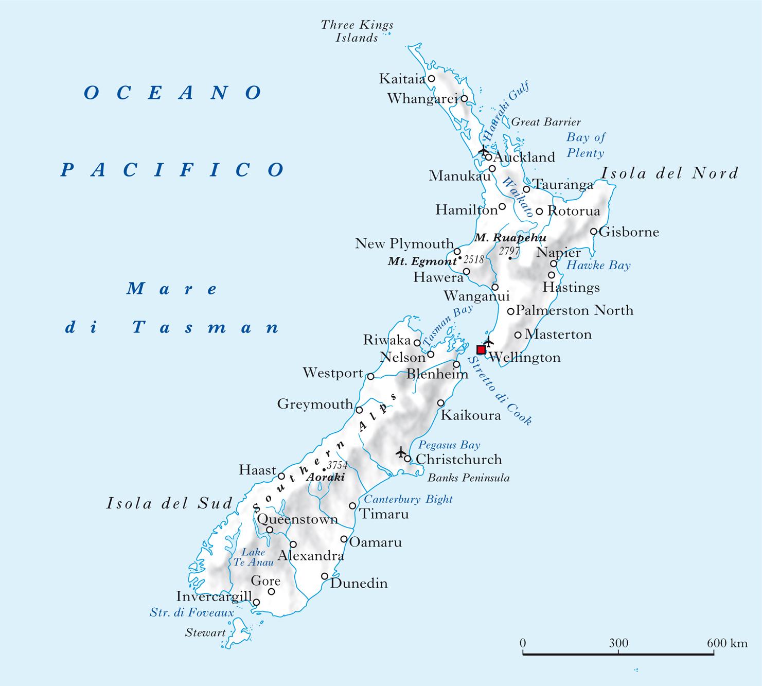 Nuova Zelanda Cartina Mondo.Il Clima Della Nuova Zelanda Un Paradiso Per Gli Amanti Dei