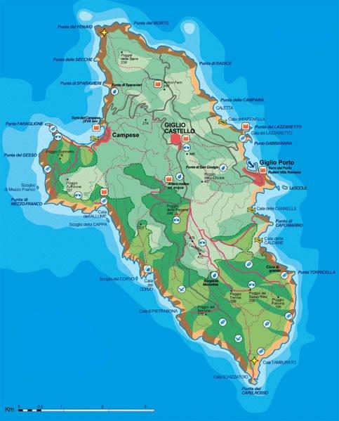L Isola Del Giglio Un Paradiso Naturale E Da Oggi Anche