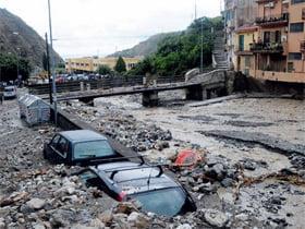 La città di Messina sin dai tempi antichi è esposta al fenomeno delle cosiddette alluvioni lampo