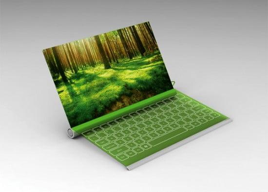 Pannello Solare Ricarica Notebook : Plantbook il laptop a energia solare che si ricarica