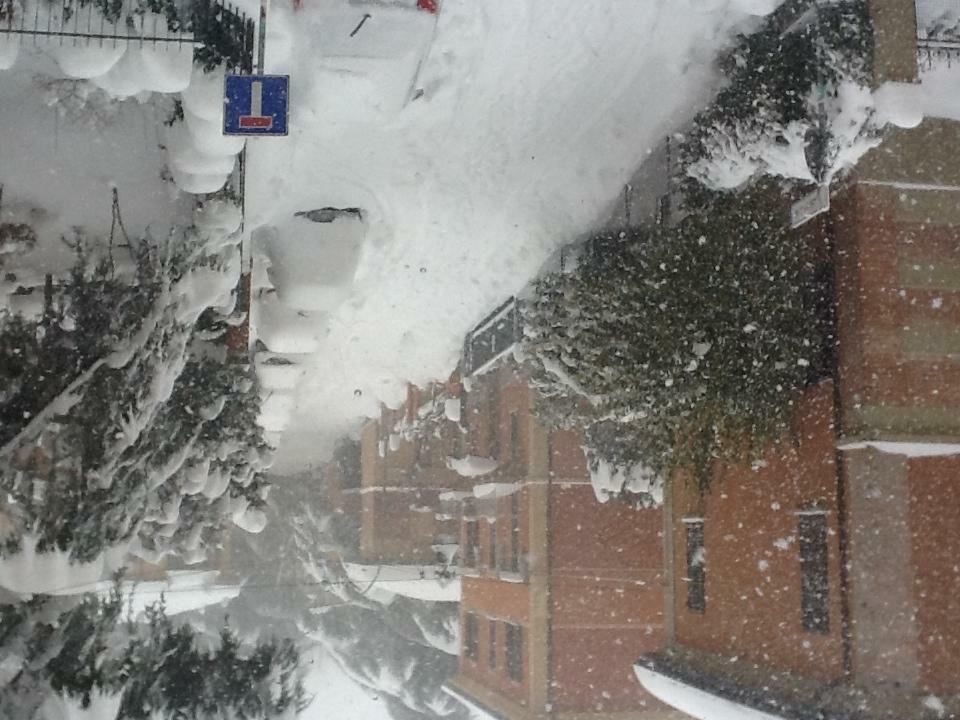 Forti nevicate in emilia romagna bufera su bologna si - Meteo it bagno di romagna ...