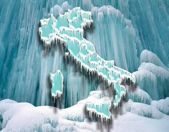 Previsioni Meteo, ondata di gelo in atto sull'Italia: temperature in picchiata, tanta neve in arrivo al Sud [MAPPE e DETTAGLI]