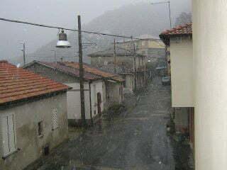 La nevicata di oggi pomeriggio a dinami nel vibonese for Il vibonese cronaca di oggi