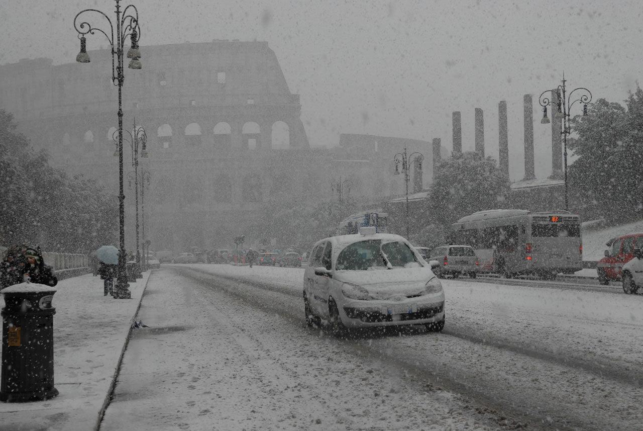 Speciale Meteoweb Neve A Roma La Situazione Meteo E Le Immagini In