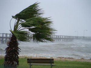 Il vento sulla Terra. Immagine d'archivio