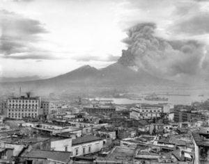 Eruzione del Vesuvio nel 1944