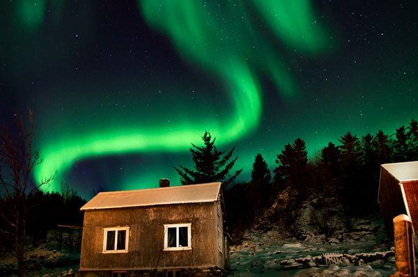 Altre magnifiche fotografie delle aurore boreali di questi for House aurora