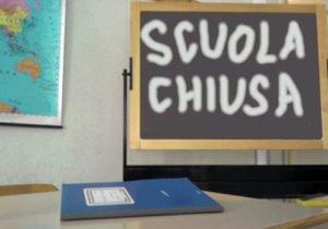 scuole chiuse allerta meteo