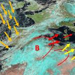 Ciclone Mediterraneo Allerta 1