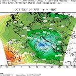 Ciclone Mediterraneo Allerta 4