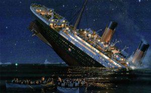 Titanic naufragio