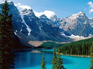 Tipico paesaggio incontaminato delle Montagne Rocciose