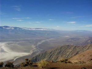 La valle della Morte vista dall'alto