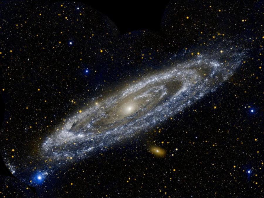 La galassia di andromeda compagna di viaggio della via for Foto galassie hd
