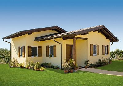 Le case di legno del cnr resistono ai terremoti pi forti for Ville bifamiliari moderne
