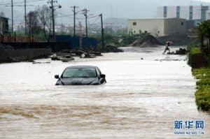 L'ondata di maltempo che sta flagellando parte della Cina
