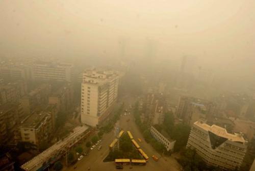 Haze pollution