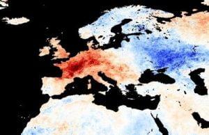 Le anomalie termiche dell'estate 2003 in Europa
