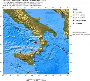 A proposito dei terremoti registrati nel basso Tirreno: ecco perchè sono cosi frequenti 1