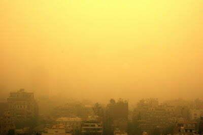 Il khamsin la furia del vento del deserto che si for Colore vento di sabbia deserto