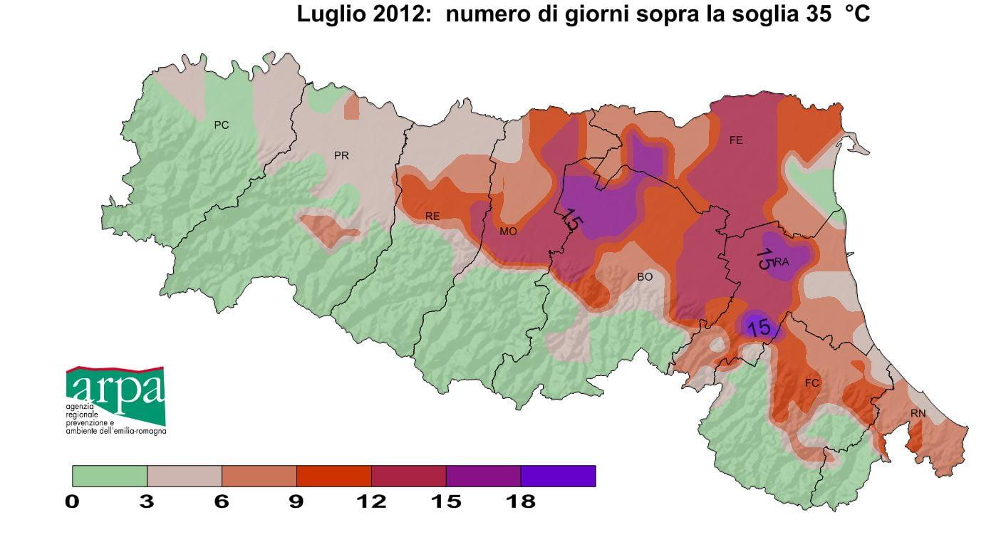 Siccit agricola gravissima o eccezionale in emilia romagna i dati e le mappe dell 39 arpa - Meteo bagno di romagna 15 giorni ...