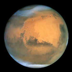 Marte dall'Hubble