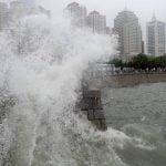 Typhoon Damrey hits China