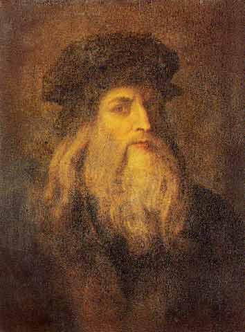 Leonardo Da Vinci Self Portrait Of Himself Un Viaggio nel Tempo a...
