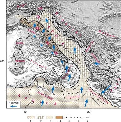 Terremoti in calabria la sequenza sismica del pollino tettonica e sismicit dell area meteo web - Il meteo bagno di romagna ...