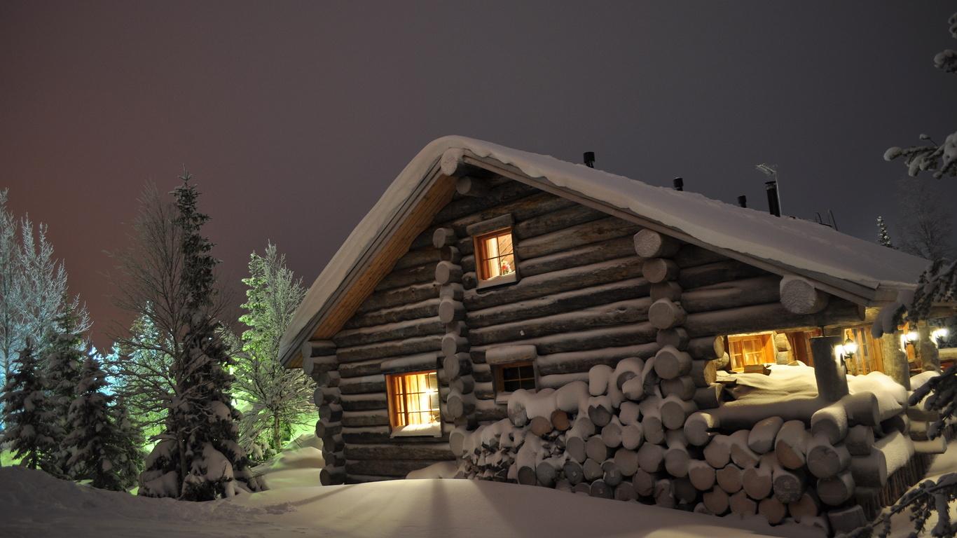 Allerta meteo ci siamo 6 giorni di super neve tutti i for Log cabin montagne blu