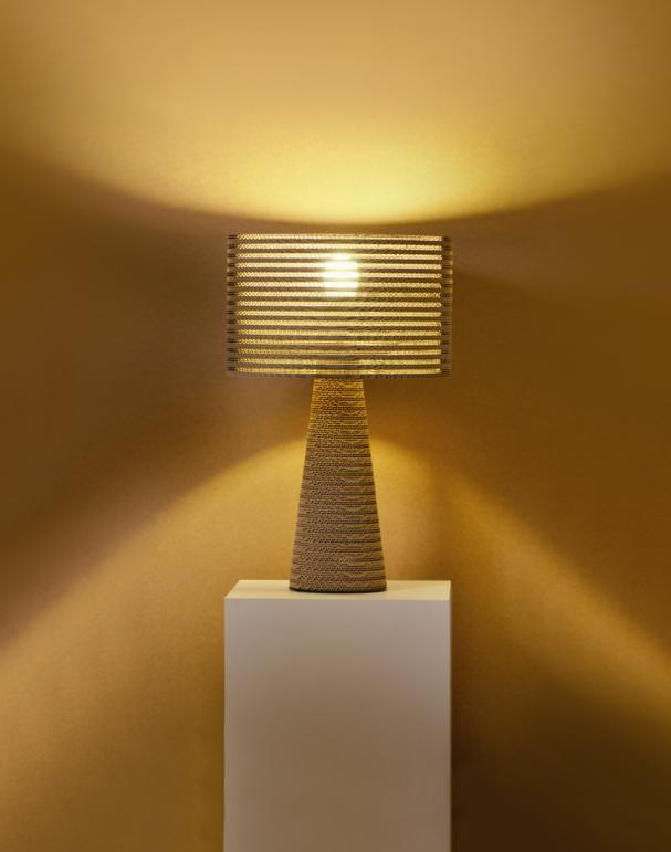 Lampade in cartone riciclato P-One e Fabbian - Meteo Web