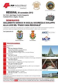 Isolamento sismico in sicilia sicurezza e sviluppo alla - Piano casa sicilia ...