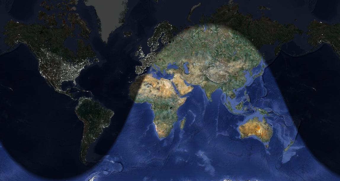 Planisfero Notturno Illuminato.Viaggio Nel Mondo Delle Onde Elettromagnetiche Un Onda