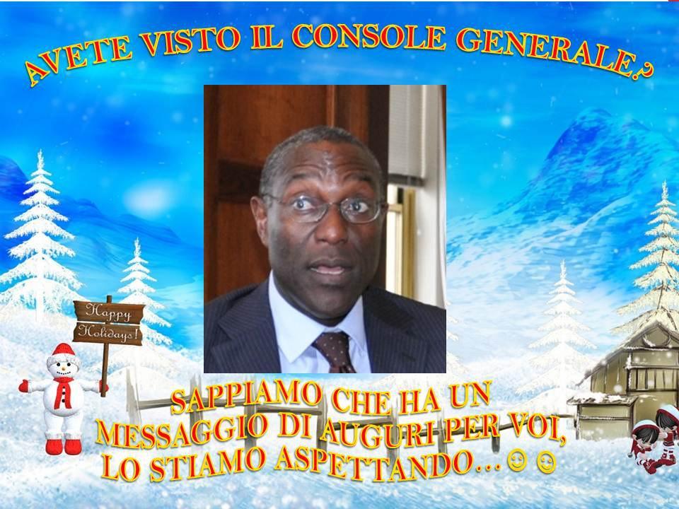 Auguri Di Natale Napoletano.21 Dicembre 2012 Il Console Generale Degli Stati Uniti A Napoli Fa